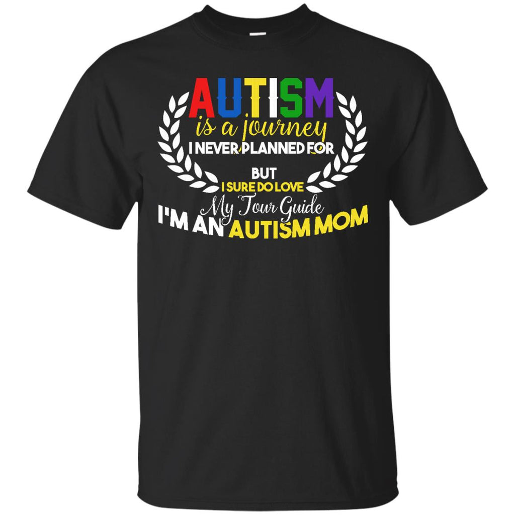An autism autistic mom not for the weak awareness t shirt