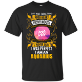 Aquarius Zodiac Tshirt I Am An Aquarius With Dirty Mind Good Heart T-Shirt