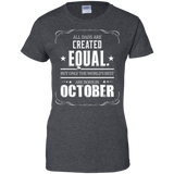 All Dads Best Are Born In October Born In October T-Shirt