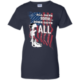 All Gave Some, 4th of July Outfit, Fourth of July Shirt, Patriotic Shirt, Veteran T-shirt