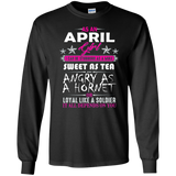 April Girl T-Shirt Funny Birthday Gifts April Birthday Shirts