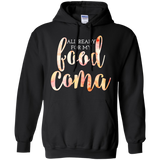All Ready For My Food Coma Women's Plus Size Thanksgiving T-Shirt