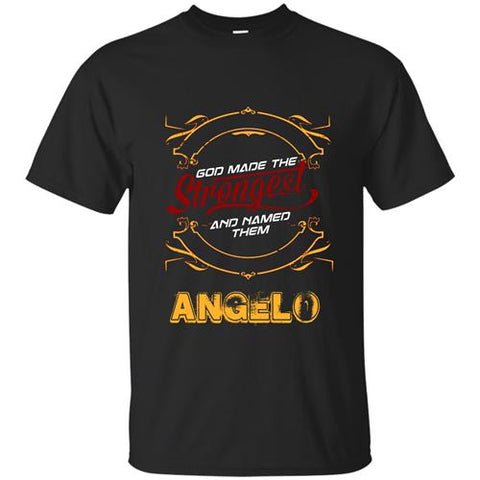 TMClothes God Made The Strongest And Named Them ANGELO