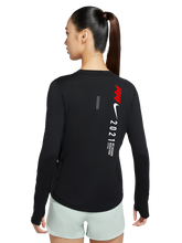 Women's Long Sleeve Black Top