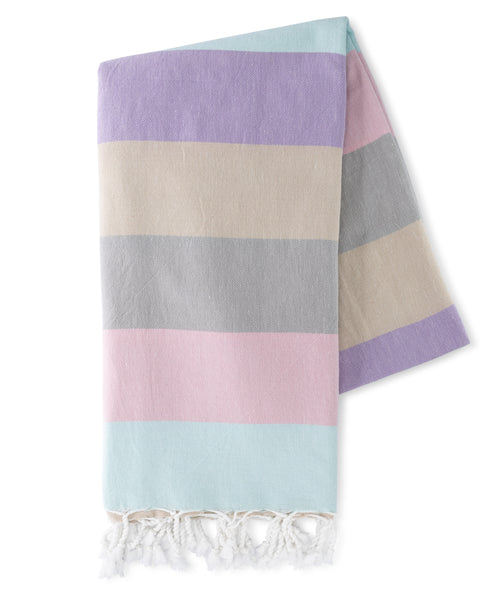 Sunrise Stripes Turkish Towel