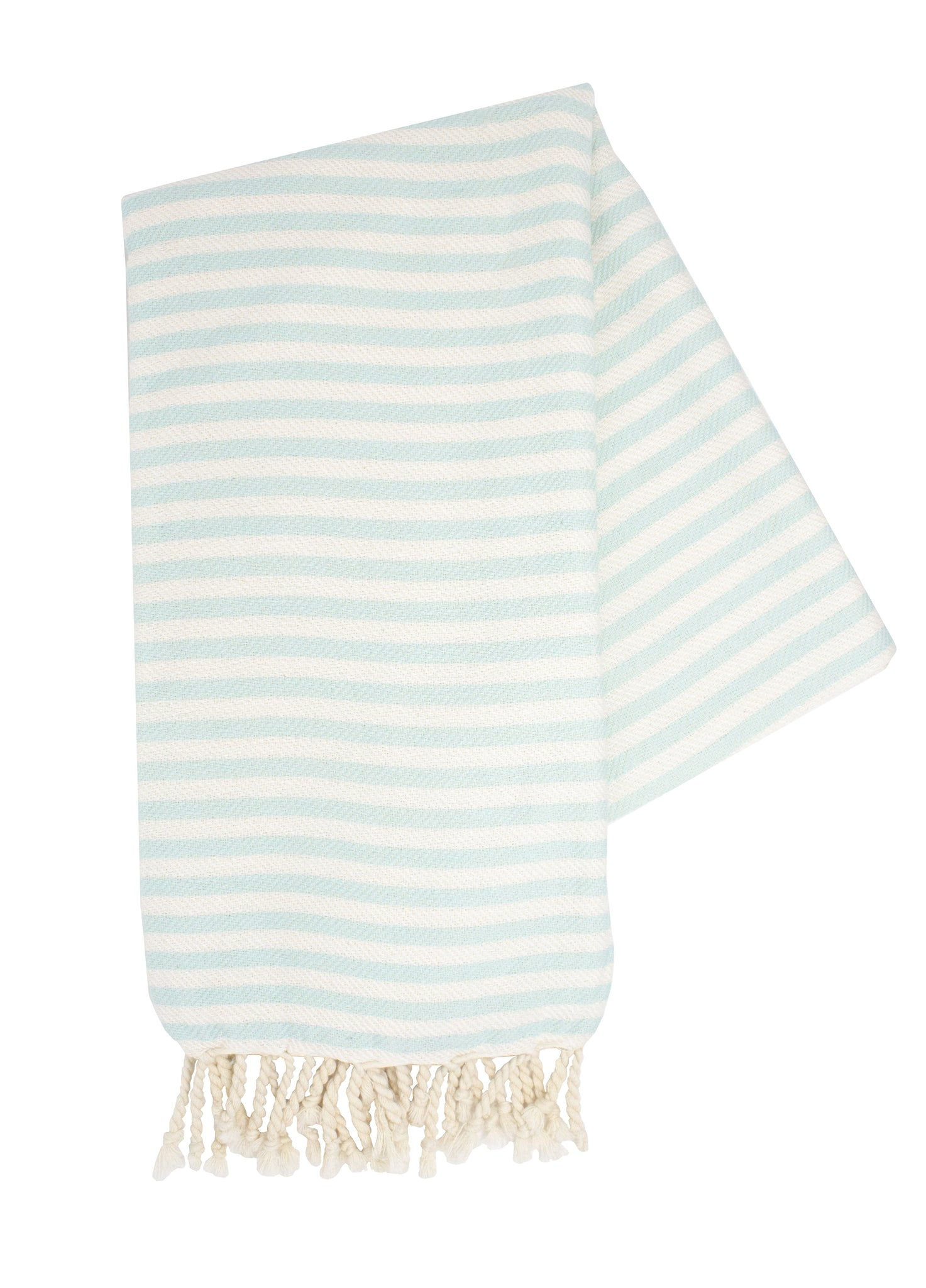Mint & White Turkish Towel