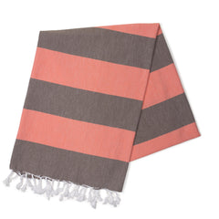 Coconut & Coral Turkish Towel