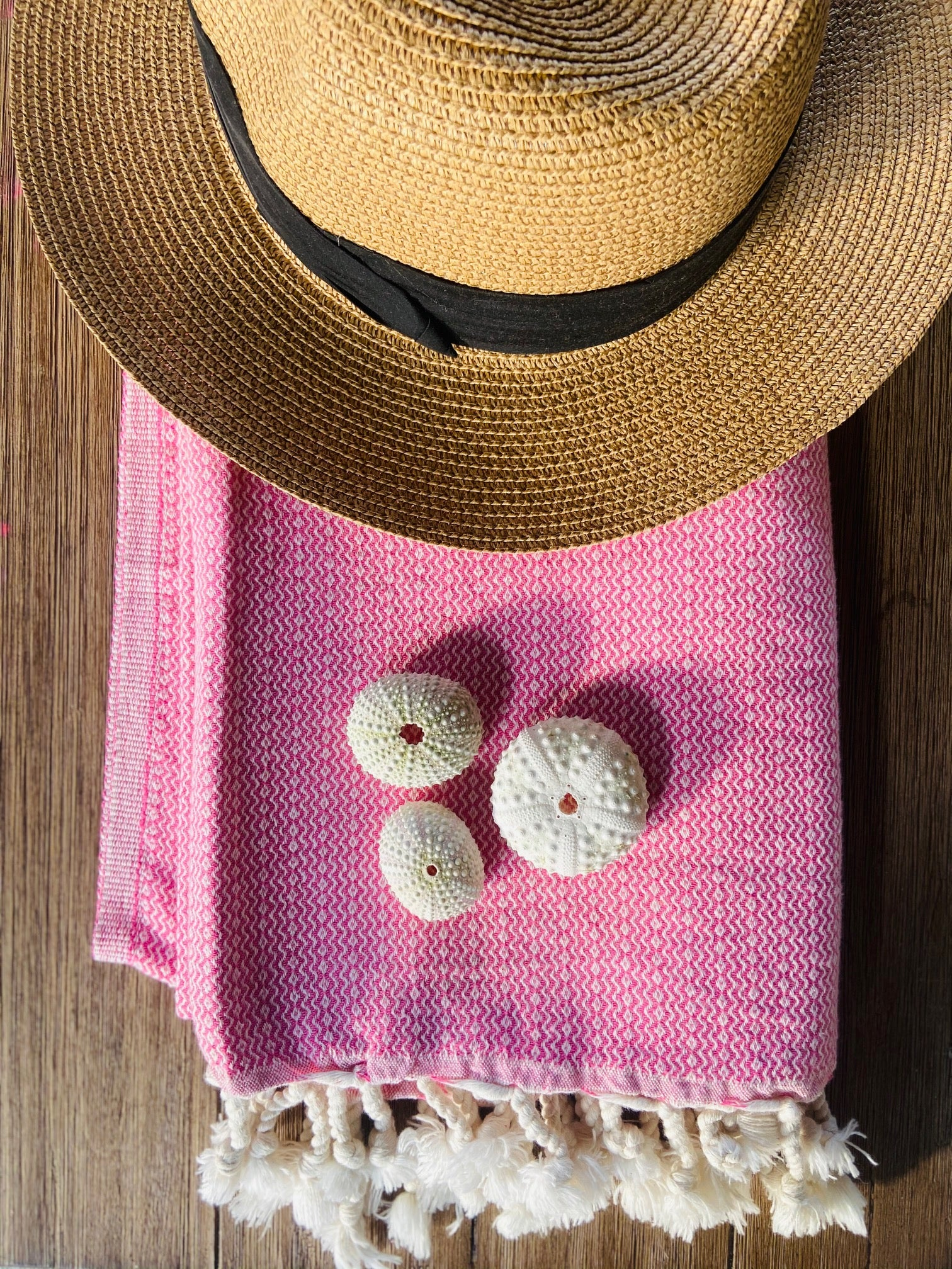 Pink Turkish Traveler Towel