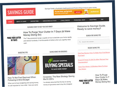 Savings Guide - Australia's Leading Personal Finance Blog