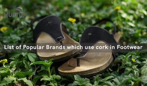 Popular Brands which use cork in Footwear