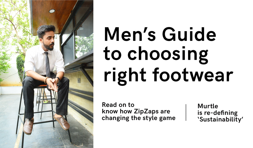 What should men look for in a footwear