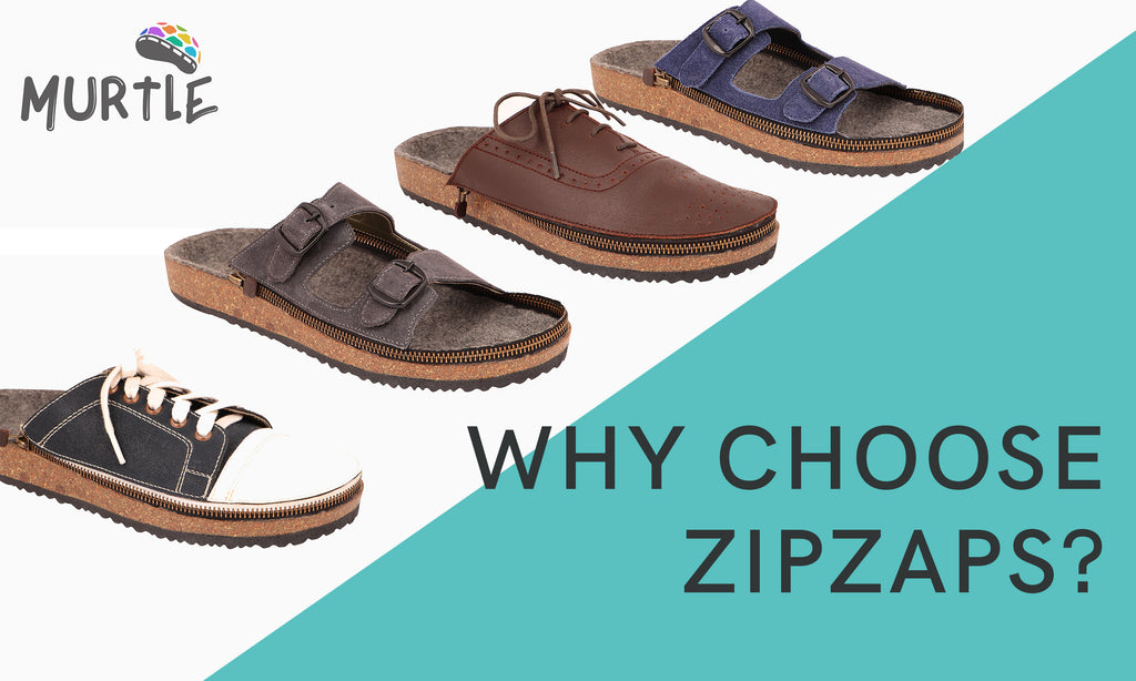 Zipzaps - the most versatile pair you will ever own!