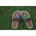 DIY Mandala Inspired art on Murtle Footwear