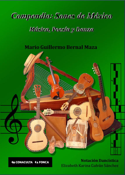 Compendio: Sones de México (2nd Edition) by Mario Guillermo Bernal Maza