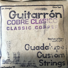 Guitarrón Strings by Guadalupe Custom Strings