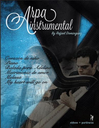 Arpa Instrumental-Instrumental Harp Method Book (Digital Delivery)
