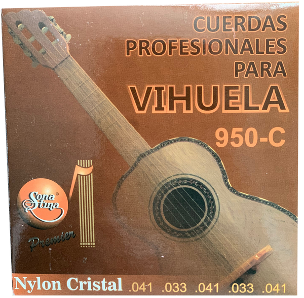Clear Nylon Vihuela Strings by Sonatina