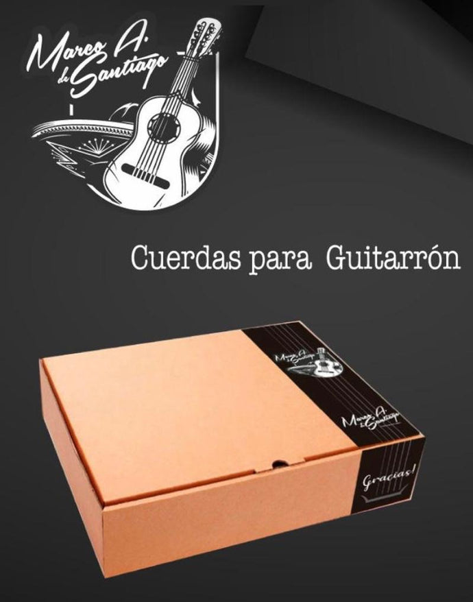 Guitarrón Strings by Marco A. de Santiago