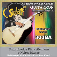 Guitarrón Strings by Selene