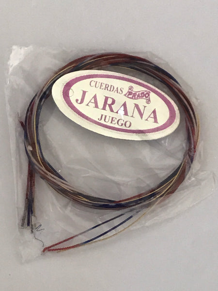 Jarana Huasteca Strings by Cuerdas Prado