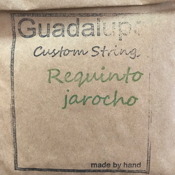 Requinto Jarocho Strings (4-Stringed) by Guadalupe Custom Strings