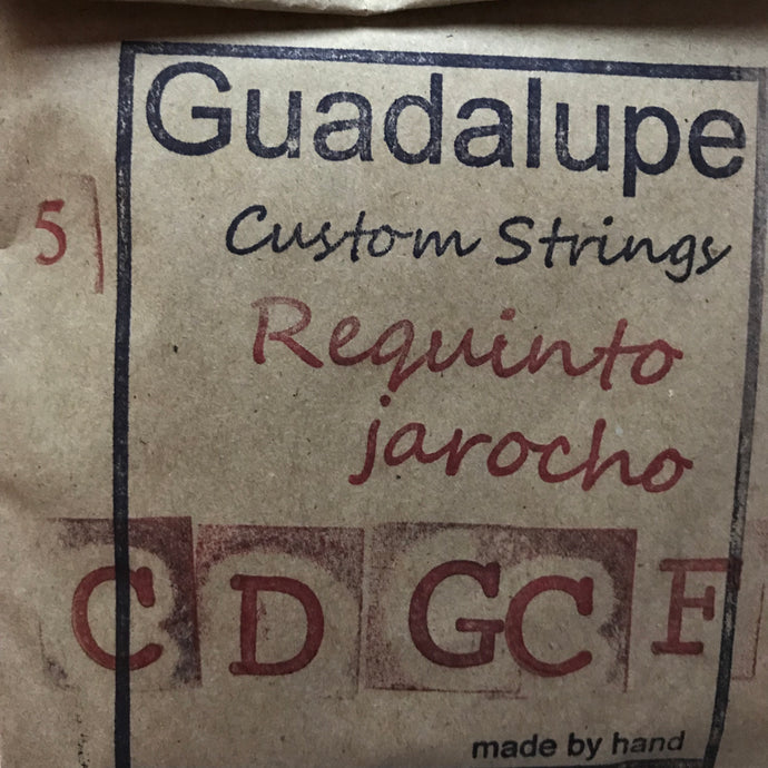 Requinto Jarocho Strings (5-Stringed) by Guadalupe Custom Strings
