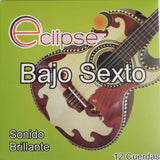 Eclipse Bajo Sexto Strings by Cuerdas Prado