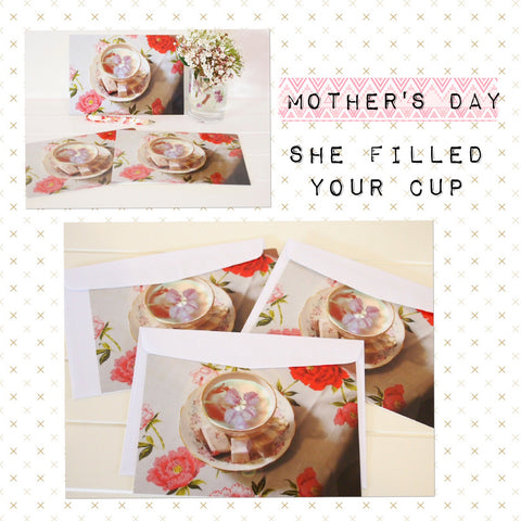Mother's Day - she literally filled your cup, now is the time to say thanks