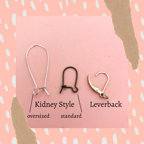 certain style of ear wires help distribute hang weight more evenly, like lever back and some kidney style earwires