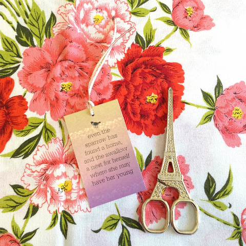 deluxe gift tags for Mother's Day, Psalm 84 quote