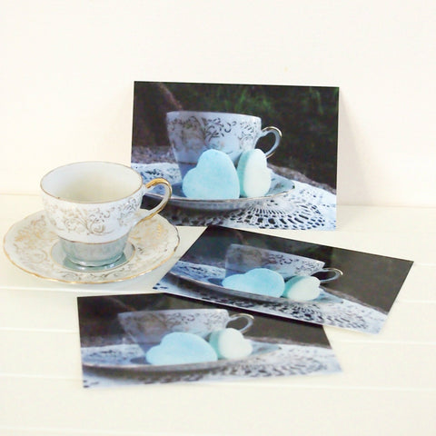 postcard set, high tea invite, hostess gift, or party favour - StarzyiaPostcards