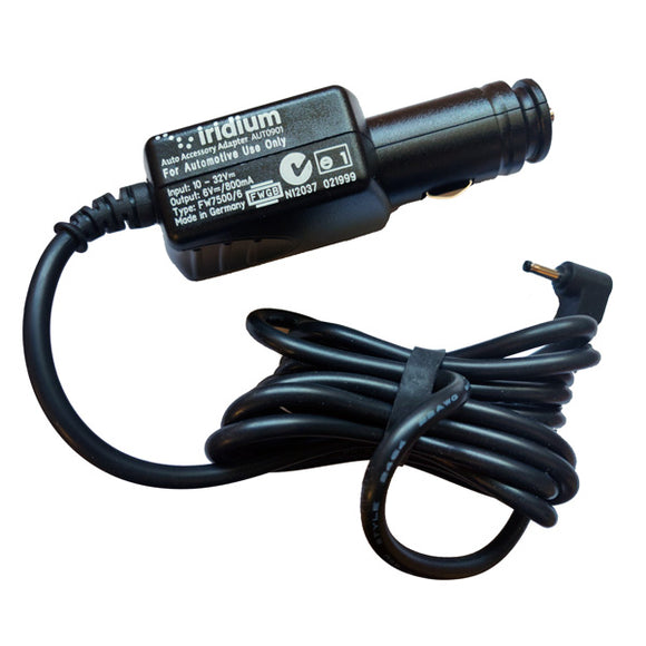 Iridium Car Charger Auto Accessory Adapter AUT0901