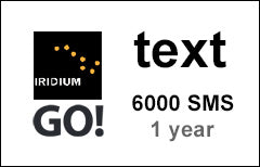 Iridium GO! Text 6000 SMS