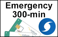 Iridium Emergency 300-min Plan