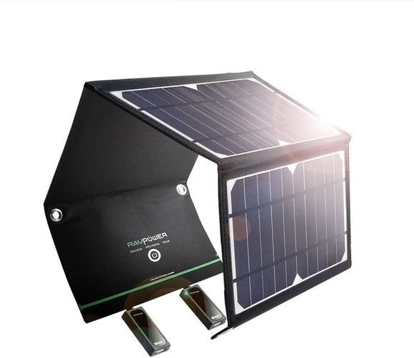 RAVPower 24W 3-port Solar Charger