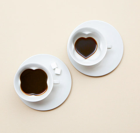 Story Cup / Plain (2 Cup and Saucer set)