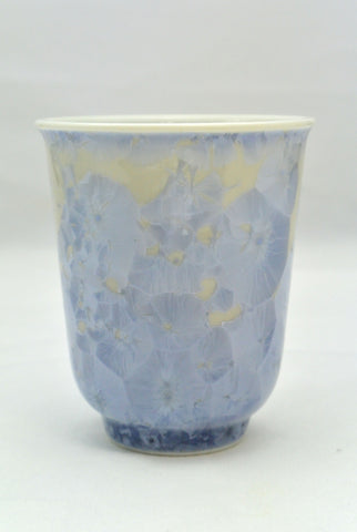 Flower Crystallization Cup Silver