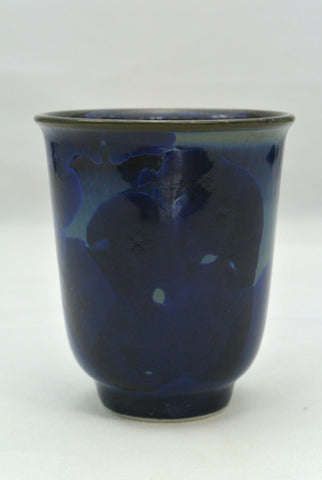 Flower Crystallization Cup Black