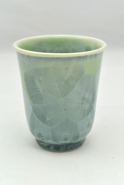 Flower Crystallization Cup Green