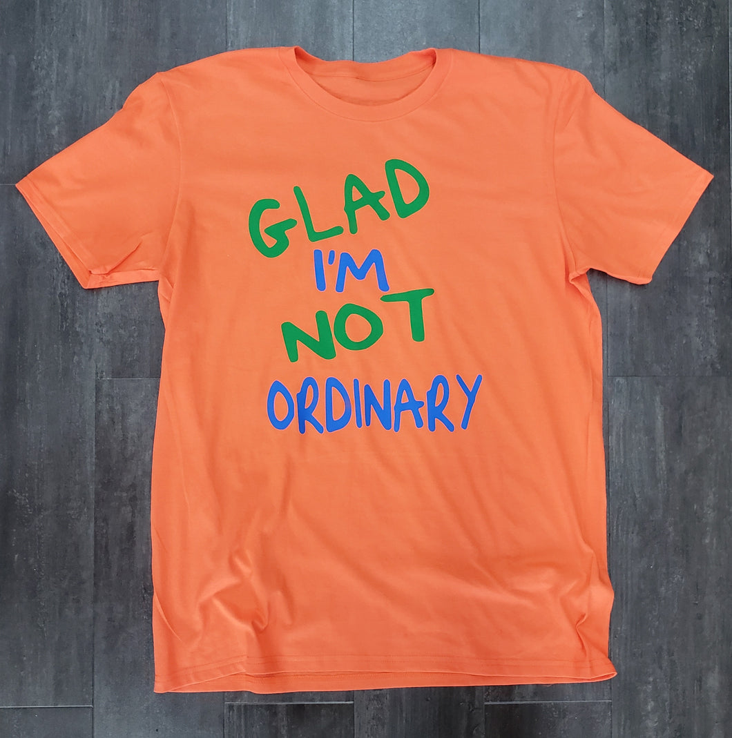 Barely Glad I'm Not Ordinary Tee
