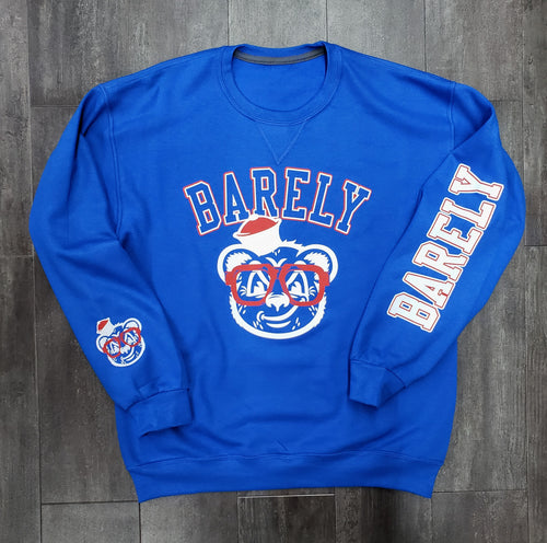 Barely Logo Crew Neck Sweatshirt