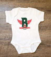 "Barely ""Winged B"" Onesie"