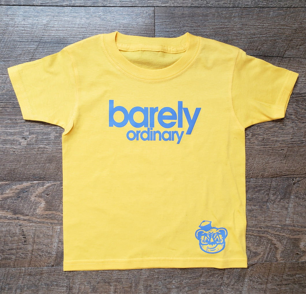 Barely Toddler Logo Tee