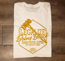 "Barely ""Legalize Being Black"" Tee"