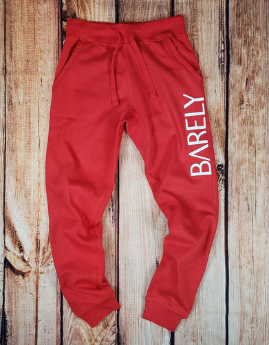 Barely Puff Logo Joggers