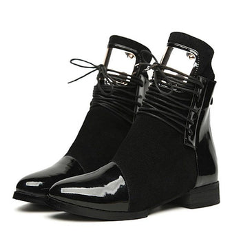 Women Martin Ankle Boots