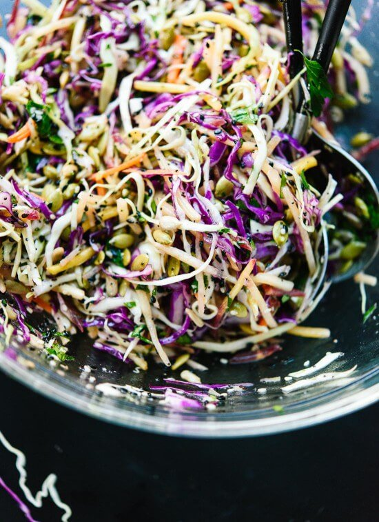 Raw Power Cabbage Salad