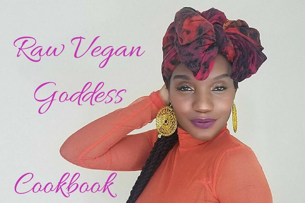 PREORDER Raw Vegan Goddess Cookbook-EBOOK