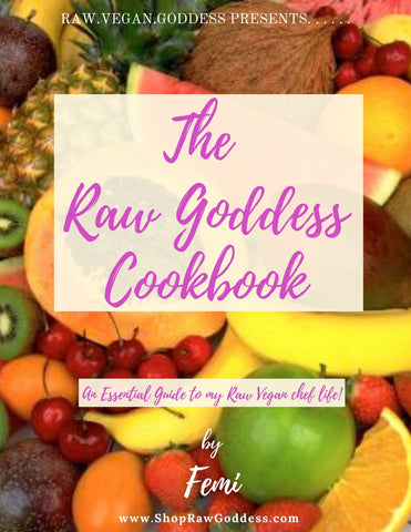 The Raw Goddess Cookbook-PRINT
