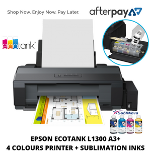 EPSON L1300 A3+ Sublimation Printer & Ink Bundle